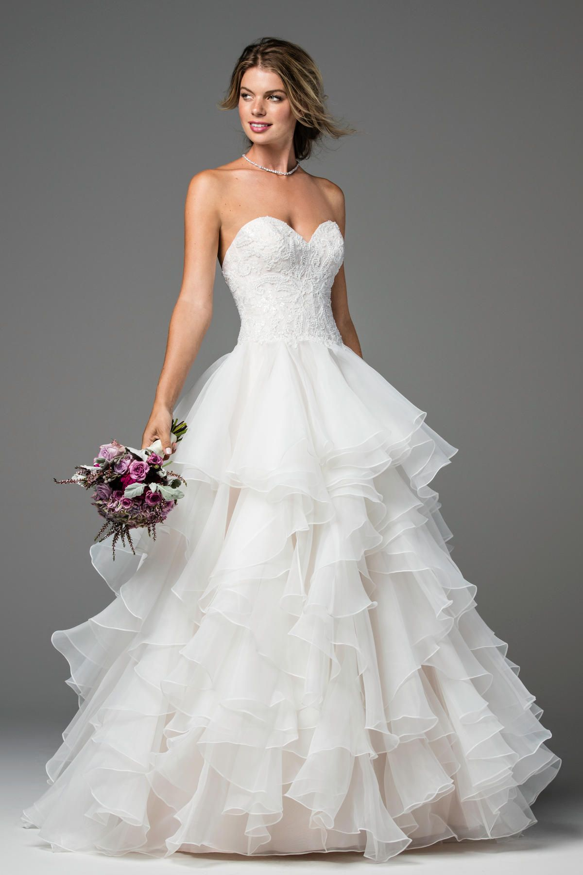Tenley brides wtoo by watters the dress pinterest