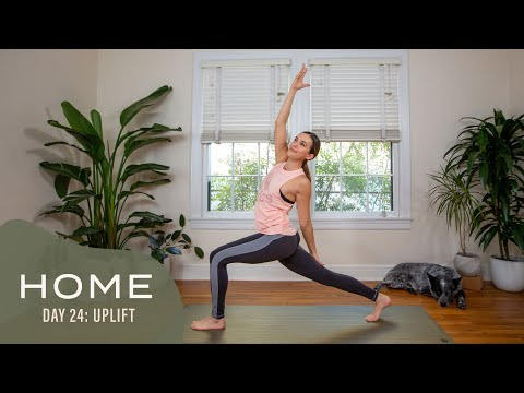 8 home  day 24  uplift  yoga with adriene  youtube