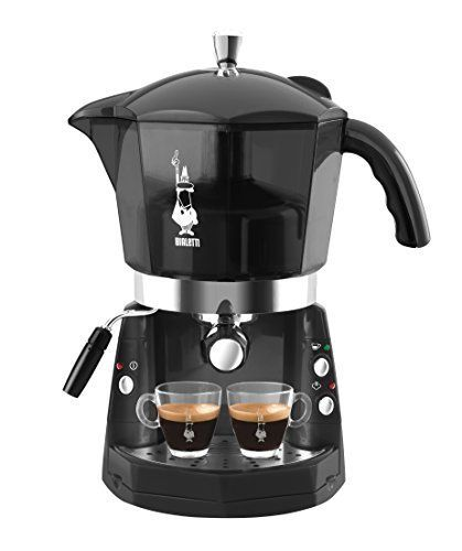 Bialetti Mokona Transparent Black By Bialetti You Can Find Out More Details At The Link Of The Image Barista Coffee Machine Bialetti Coffee Machine