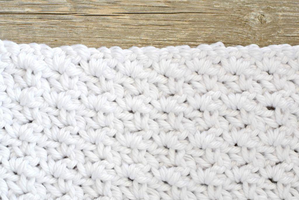 How To Crochet the Block Stitch – Mama In A Stitch | Curso crochet ...
