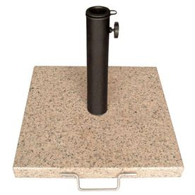 Garden Treasures Yellow Granite Umbrella Base Home