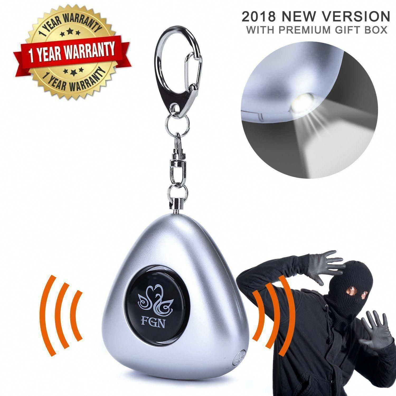 Emergency Personal Alarms Keychain, Personal Security