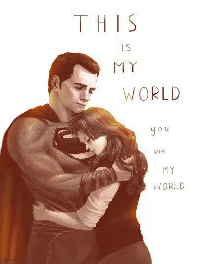 Superman And Lois Lane This Amazing Superman And Lois Lane Superman Love Superman Quotes