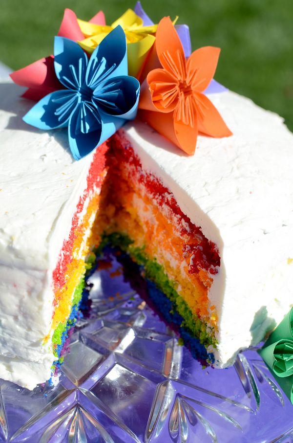 Rainbow Wedding Inspiration| Photo by: raynamcginnisphotography.com