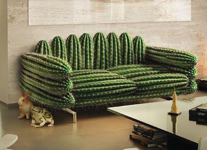 Cactus Arredamento ~ Cactus arredamento divano sofa arte contemporanea
