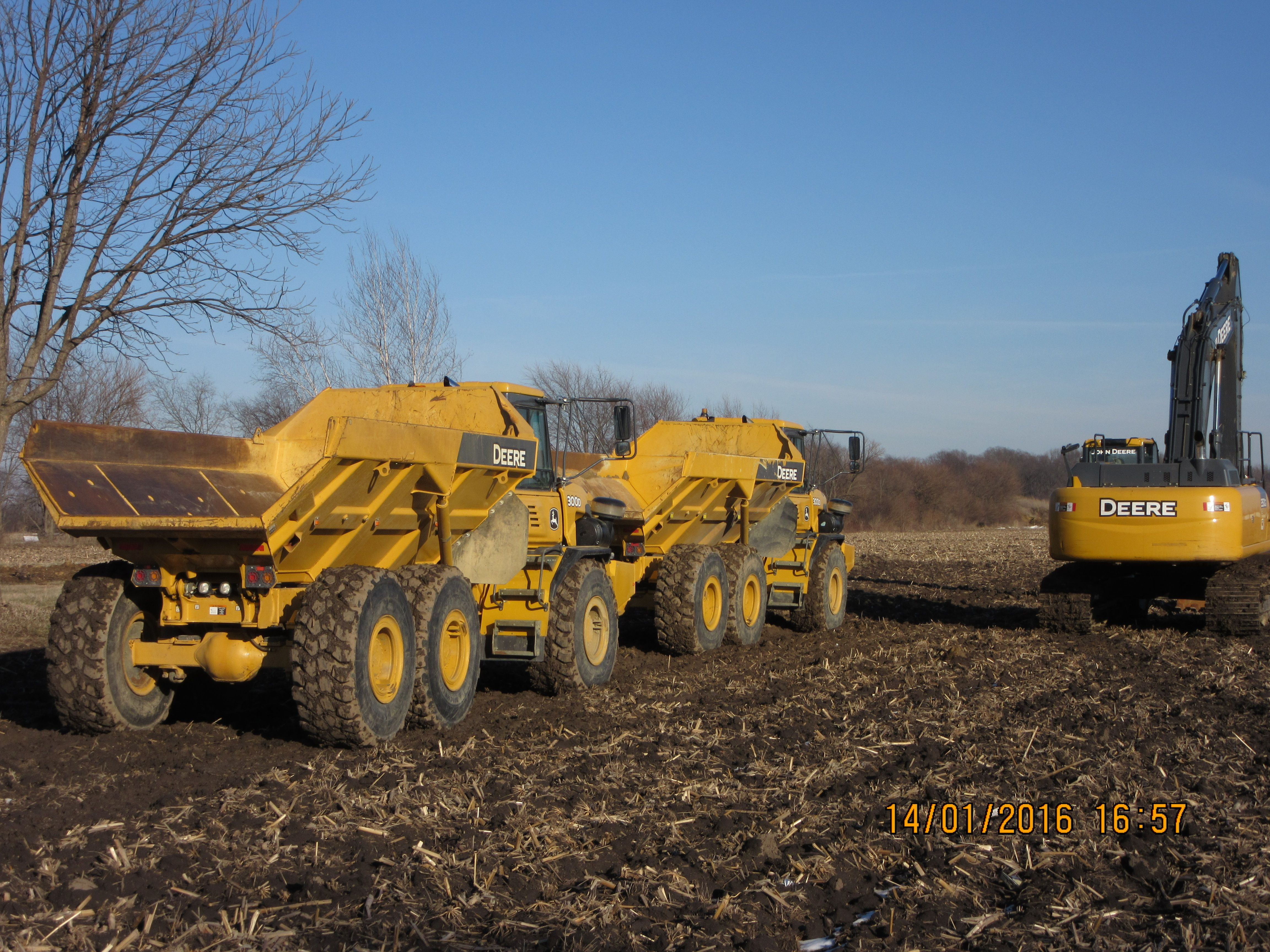 john deere 350g lc hydraulic excavator u0026 300d adts articulated