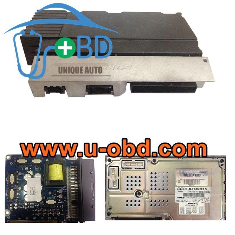 Audi A6 Q7 Bose Audio Amplifier Module Replacement Circuit Board J525 Module Circuit Board Electrical Wiring Diagram Circuit Board Audio Amplifier