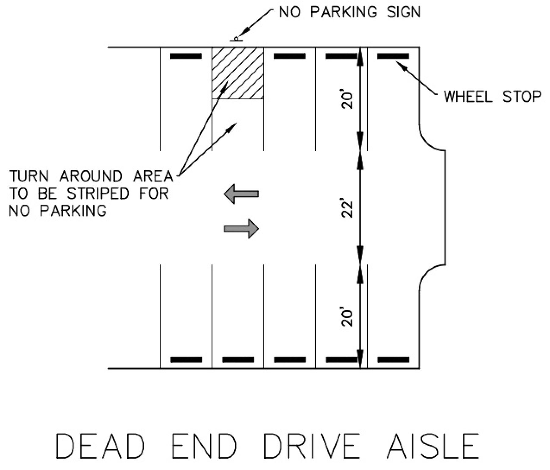 Residential Landscape Plan For Off Street Parking