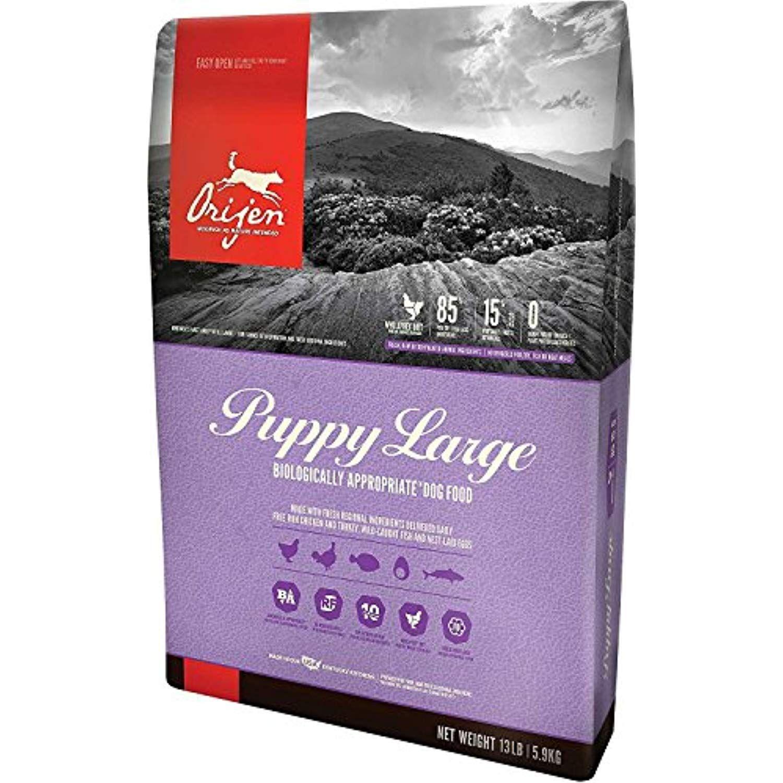 Orijen Large Breed Puppy Formula Dry Dog Food 13 Pound Bag
