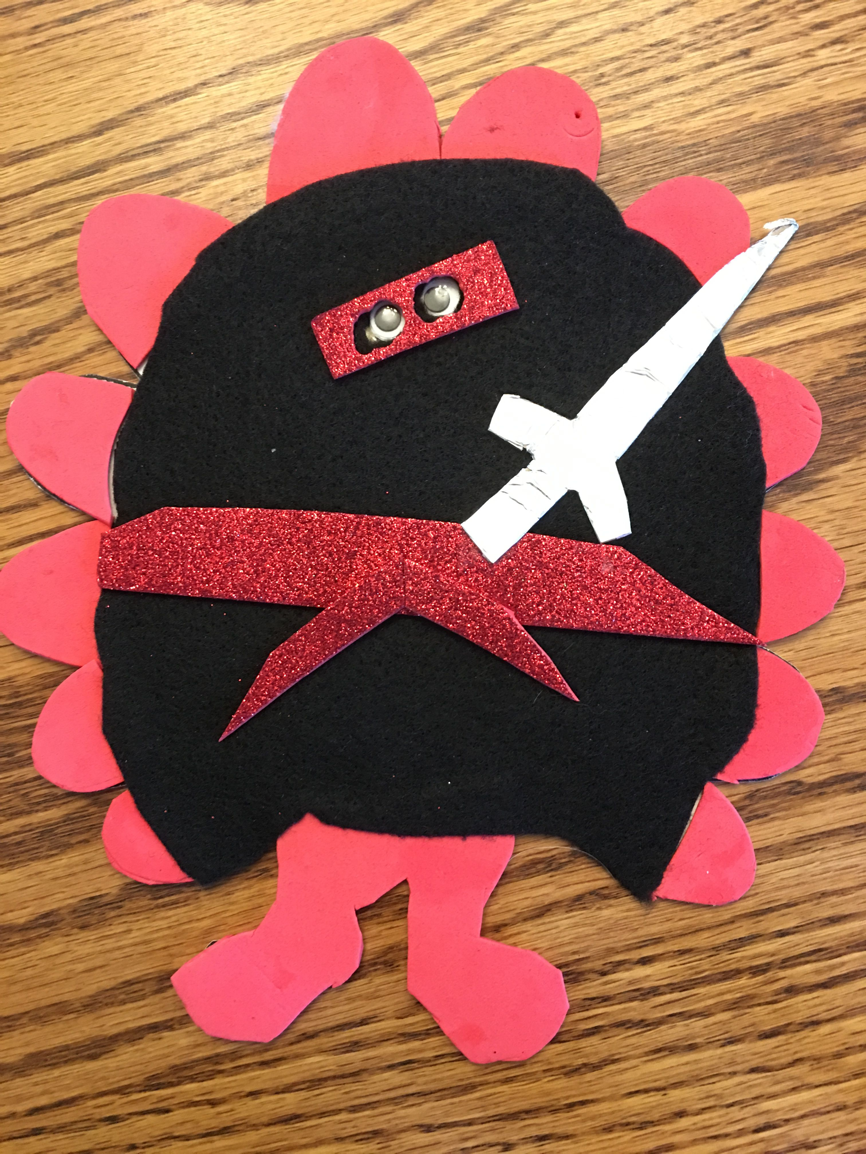 Turkey In Disguise Ninja