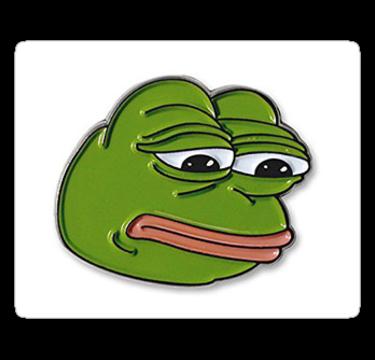 Ultra Rare Misprint Pepe Stickers Rarepepes Redbubble