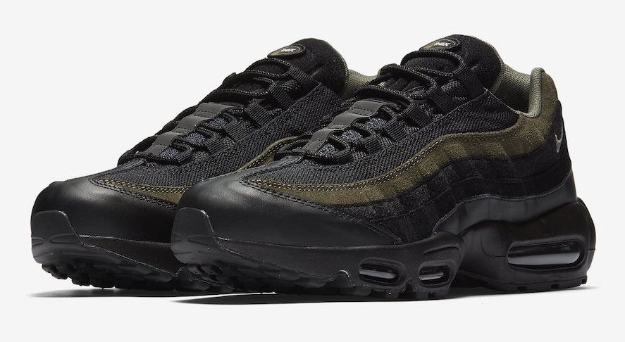 971a707503 Official Look At The Nike Air Max 95 HAL Black Cargo Khaki | Shoes ...