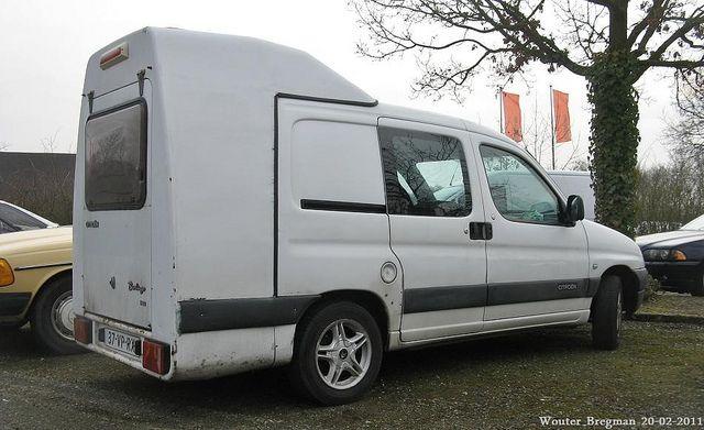 citro n berlingo 2 0 hdi 2000 car based campers. Black Bedroom Furniture Sets. Home Design Ideas