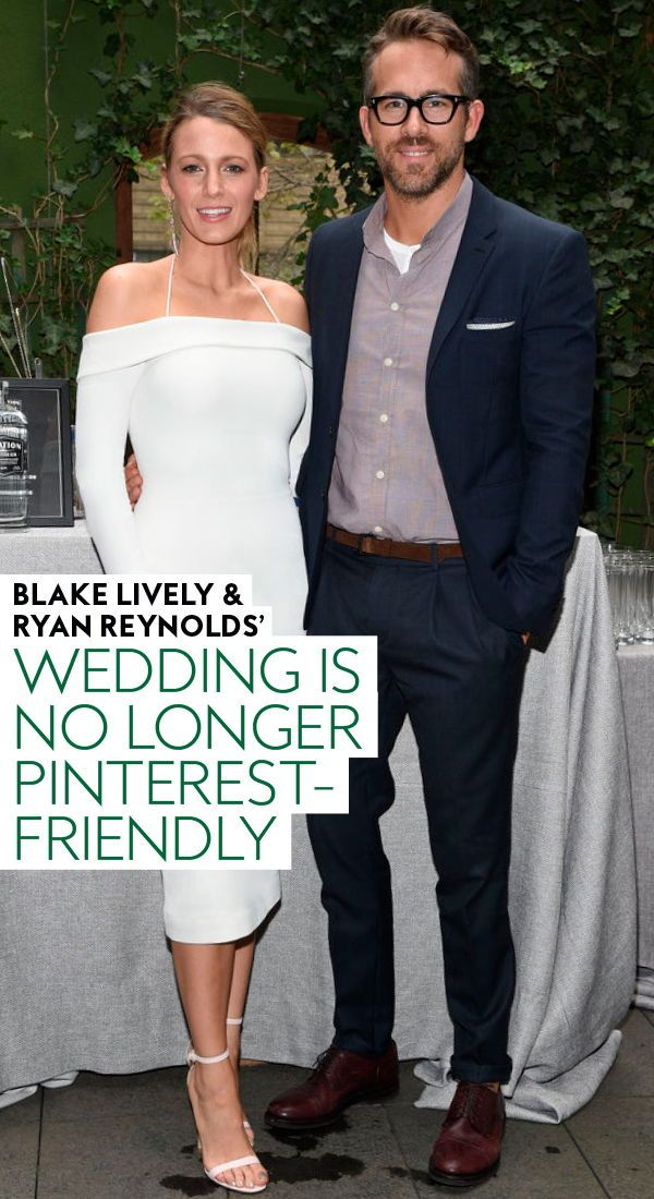 Blake Lively and Ryan Reynolds's Wedding Is No Longer ...