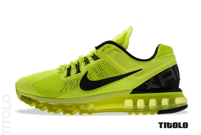 Nike Air Max+ 2013 - Volt/Black-White | Sole Collector