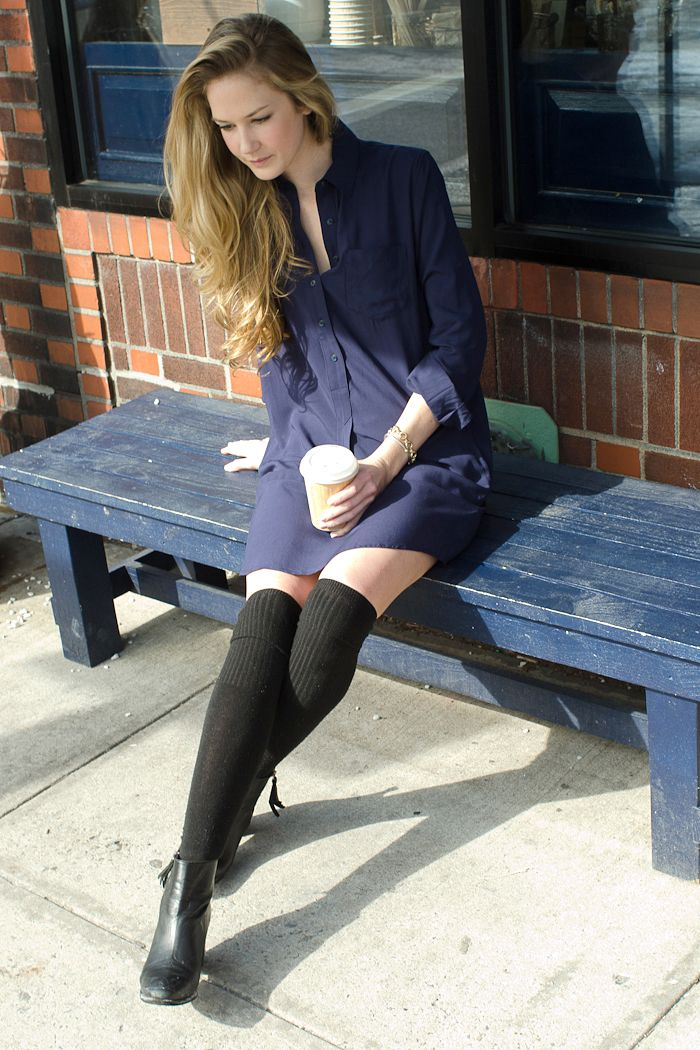 57a9f7de0 Chuck Grant on the joys of knee socks and her upcoming film project  Gap   Styldby