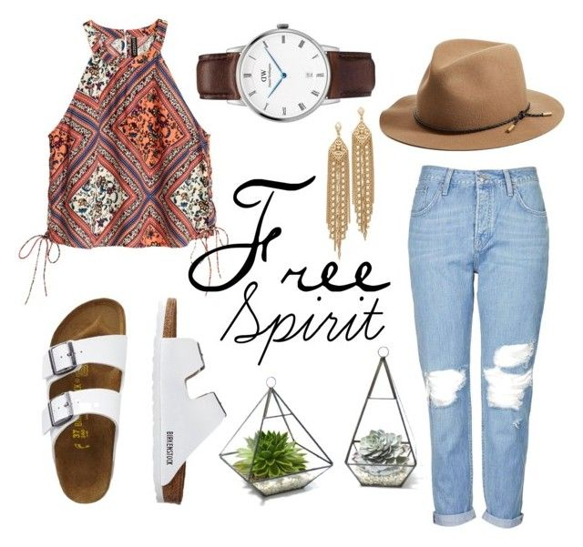 """Free Spirit"" by daniel-wellington ❤ liked on Polyvore featuring Topshop, TravelSmith, Capwell + Co and rag & bone"