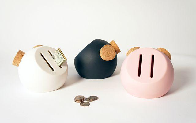 Oink Piggy Bank Piggy Bank Ceramics Money Box