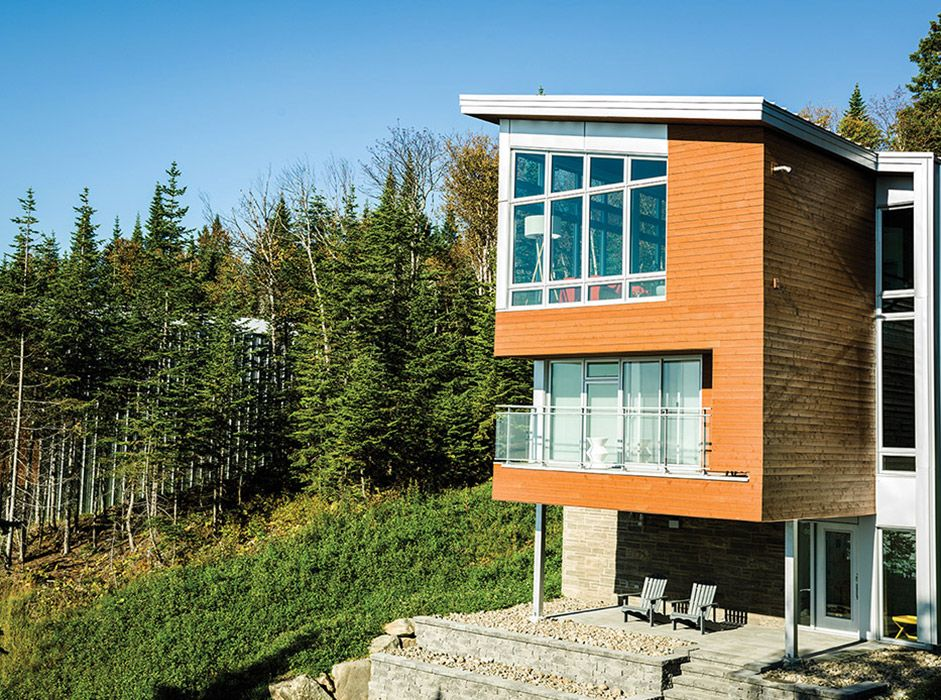 Maibec | Residential - Massif de Charlevoix | Urban Modern house ...