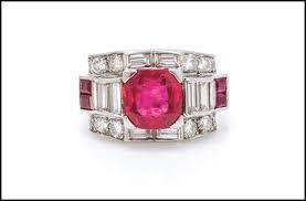 Risultati immagini per anello rubino tiffany