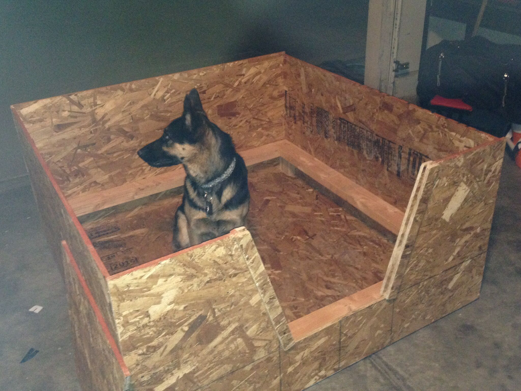 Whelping Box Made This For A Friend German Shepard