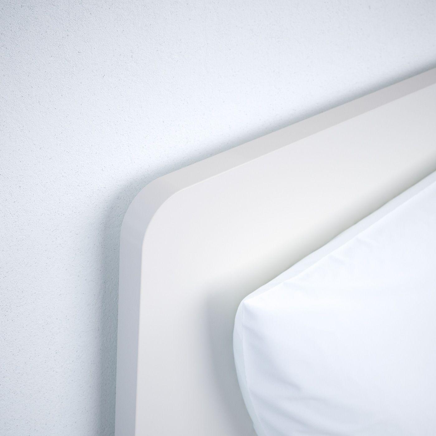 IKEA ASKVOLL Bed frame white, Lönset in 2020 Bed frame