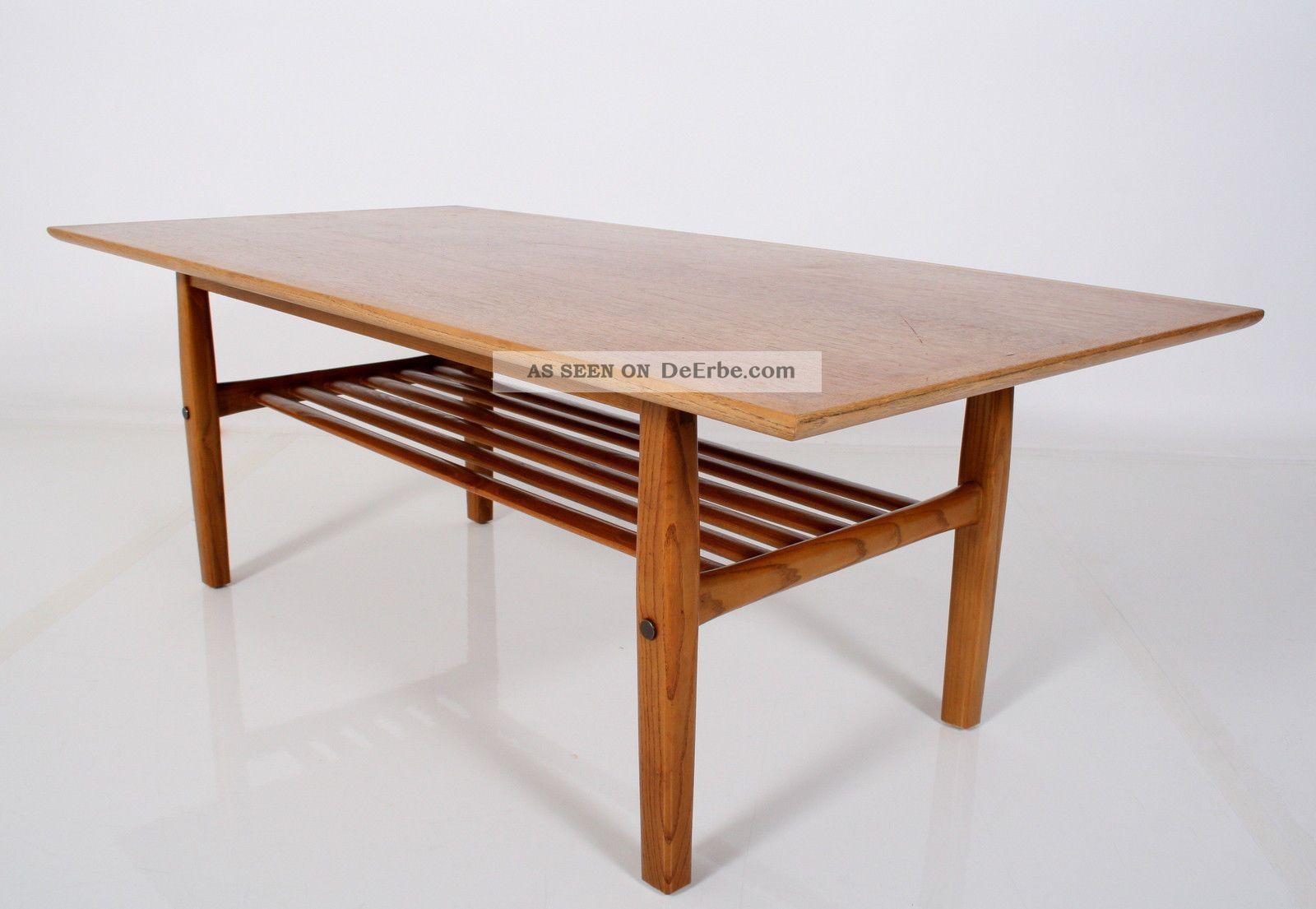 Teak 60er Coffee Table Danish Design Couchtisch Tisch Table 60s A ...