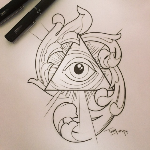 tattoos all seeing eye tattoo 300 drawing prompts