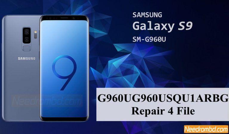 Galaxy S9 G960USQU1ARBG 4 File Download | Smartphone