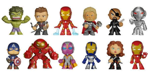 Avengers Bobble Heads Together Google Search Avengers Age Funko Mystery Minis Mystery Minis