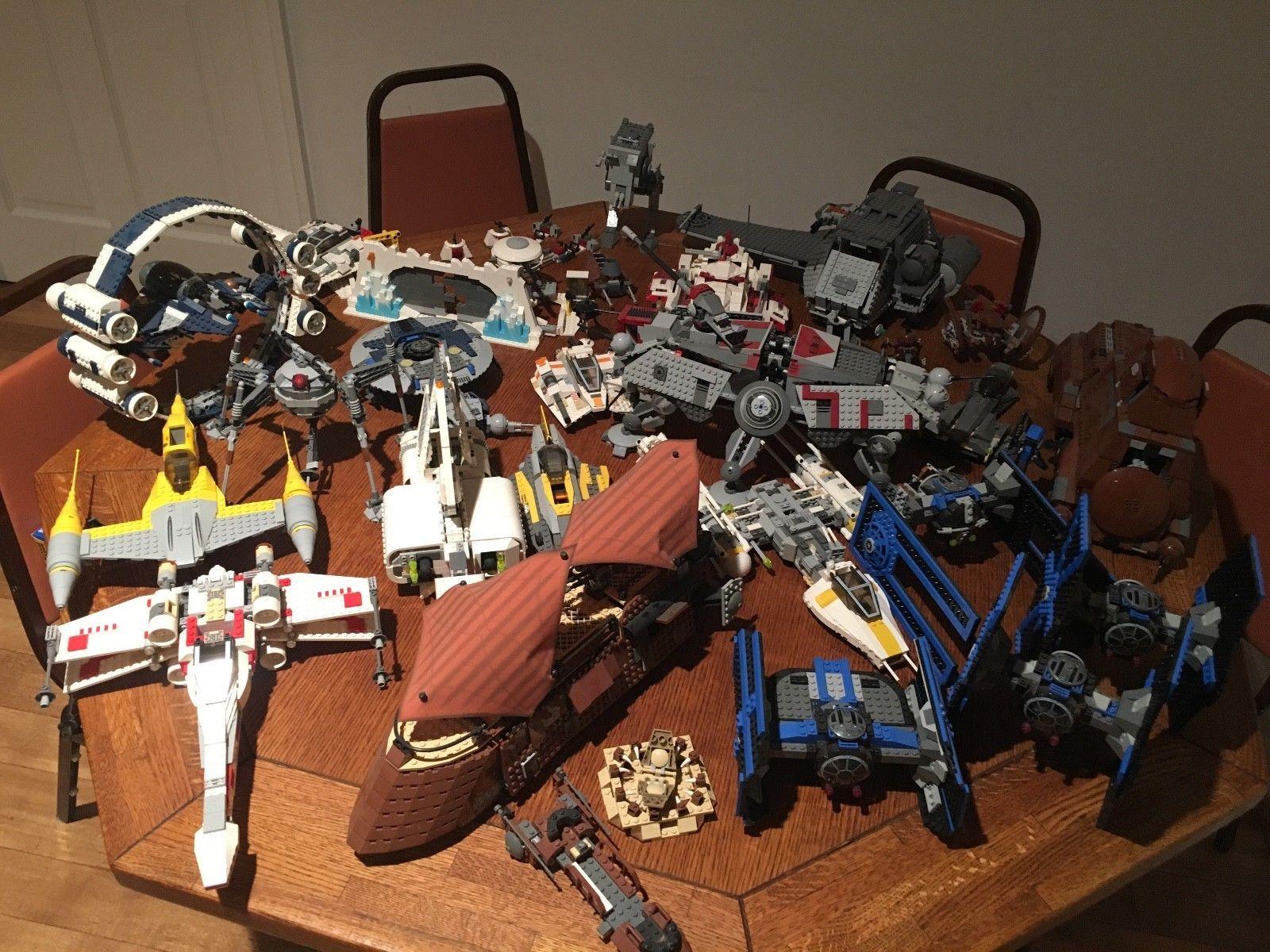 Huge Lego Star Wars Lot 22 Sets Included Lego Star Wars