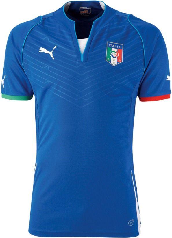 Italy Confederations Cup Jersey 2013 Puma Soccer Jersey Football Shirts Sports Shirts