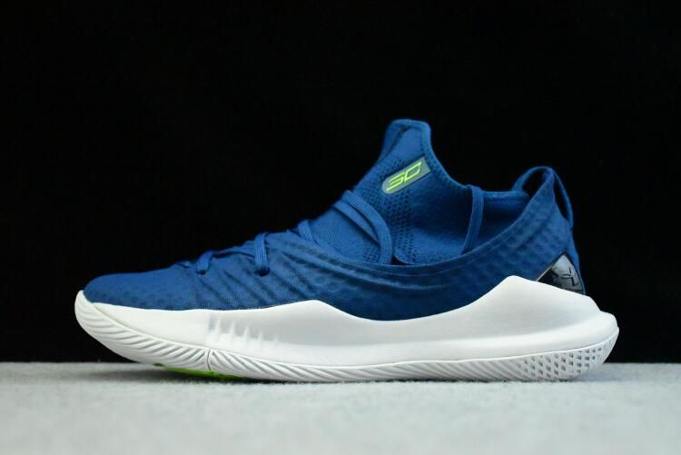 wholesale dealer 2f4be 6d5d1 Low Price Under Armour UA Curry 5 Royal Blue White Mens Basketball Shoes  For Sale