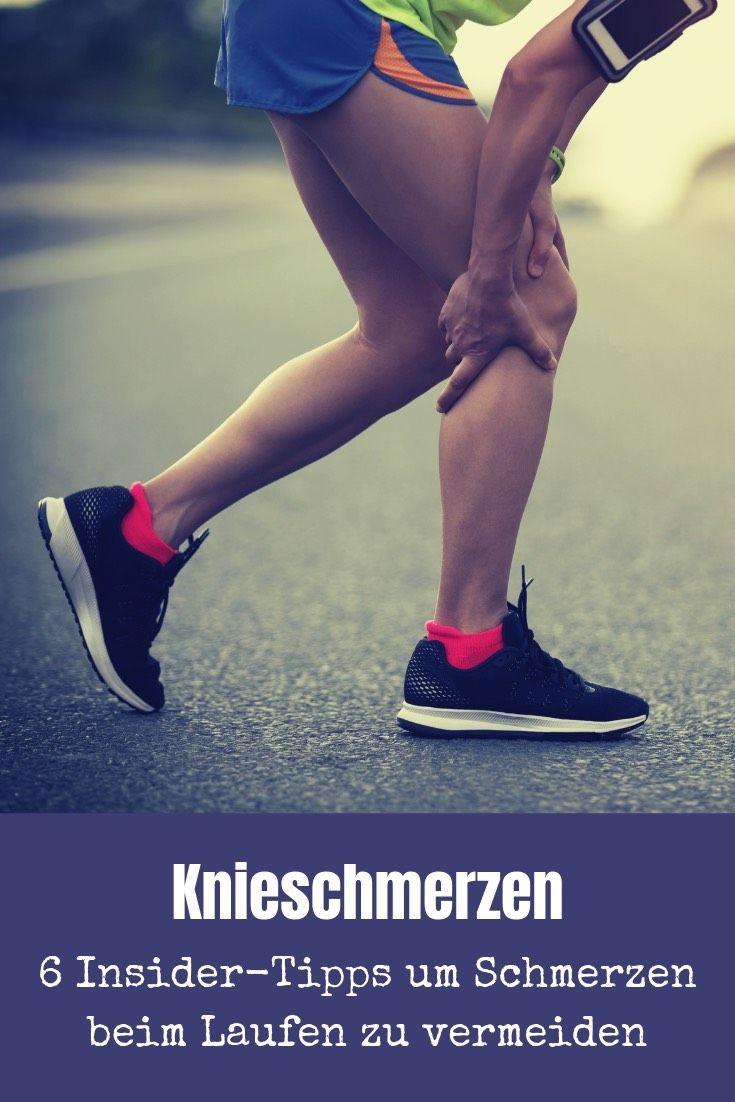 Autsch! Knieschmerzen beim Laufen - Meine 6 Insider-Tipps..
