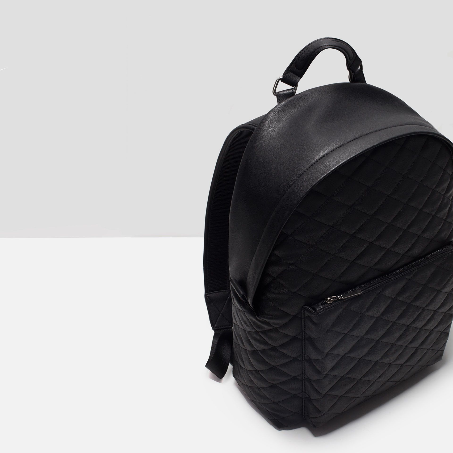zara mens backpack quilted - Google Search | MEN'S FASHION STYLING ... : quilted rucksack zara - Adamdwight.com