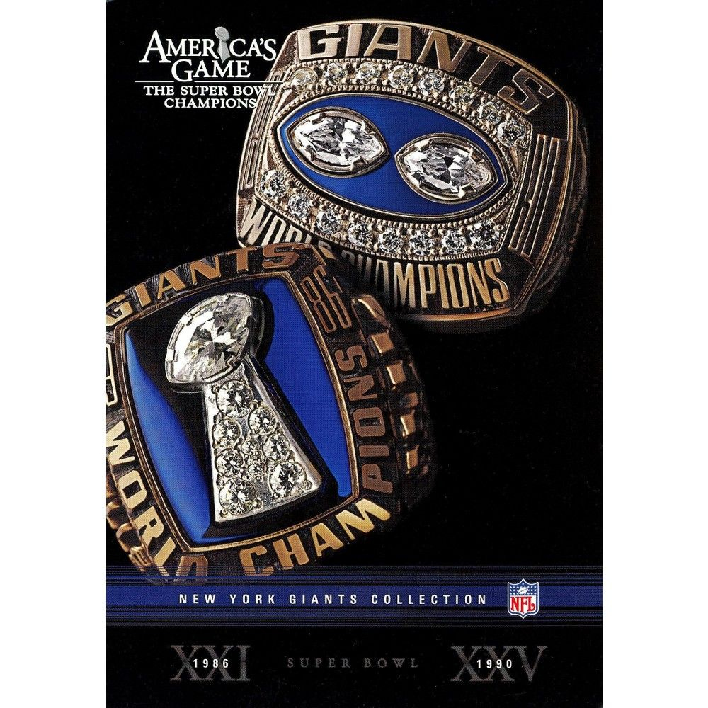 NFL America's Game New York Giants [2 Discs] New york