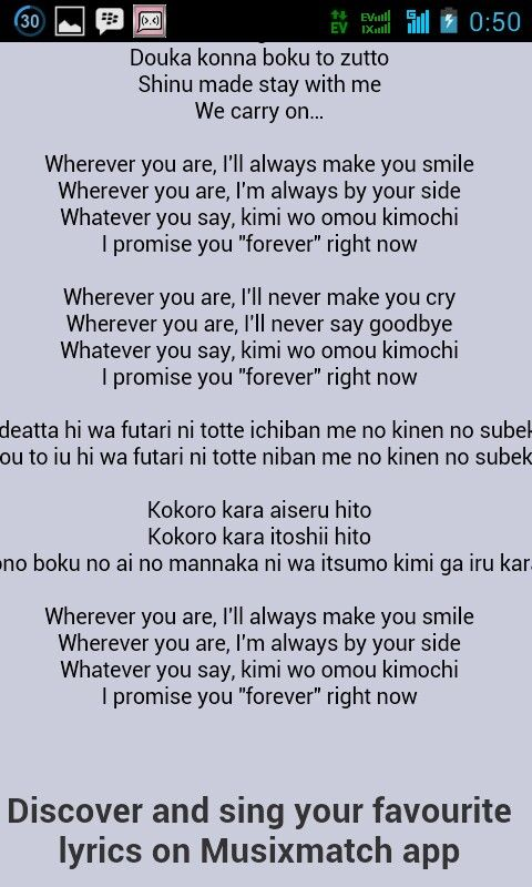 Lirik Lagu Because Of Who You Are