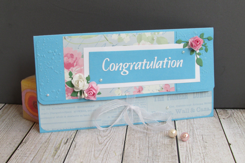 Blue Wedding Envelope Wedding Gift Card Holder Anniversary Greeting Card Bridal Gift Wallet Money Card Money Gift Card Envelope Gift Card Holder Wedding Anniversary Greeting Cards Custom Wedding Cards