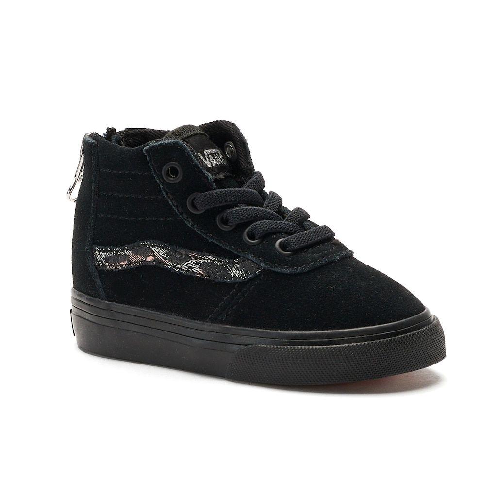26bff8721d13 Vans My Maddie Zip Toddler Girls  High Top Sneakers