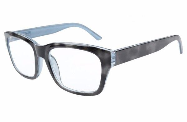 fcb447d445eb Eyekepper Spring Hinges Large Square Frame Reading Glasses Black Grey  R045-Black-Grey - Reading Glasses-Computer Eyeglasses-Game Glasses-Bifocal  Sunglasses