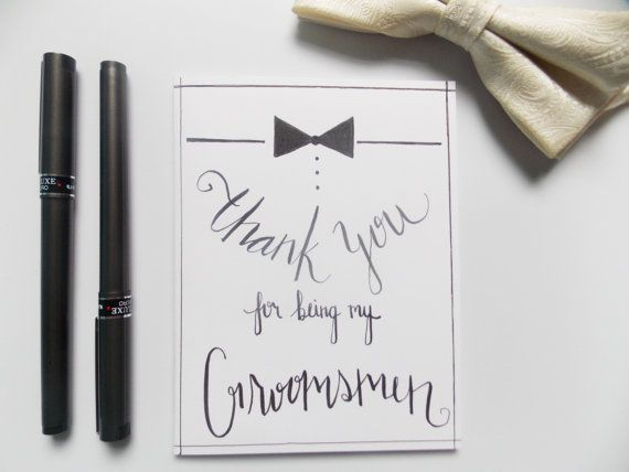 Groomsman Gift Thank You For Being My Groomsman Card Thank Etsy Groomsman Card Be My Groomsman Wedding Day Cards