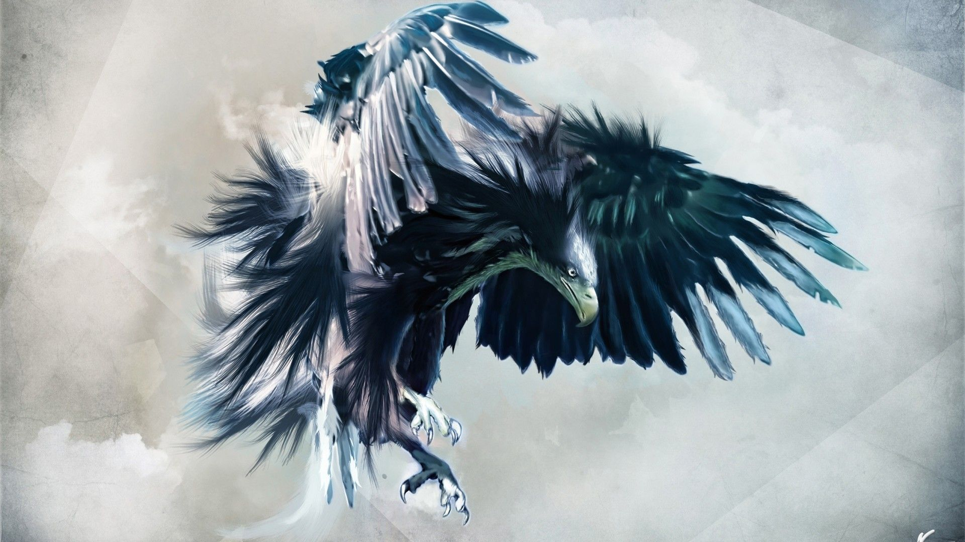 An Amazing Eagle With Opened Wings Birds Wallpapers Animals