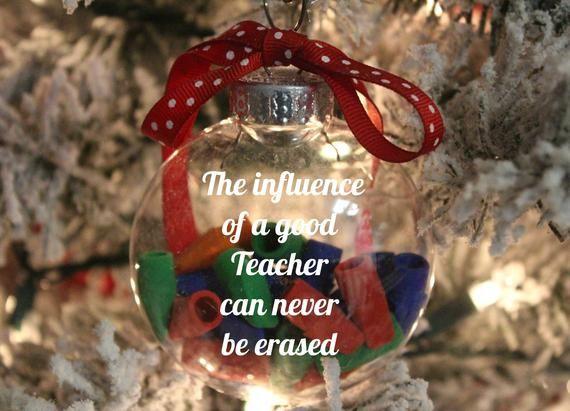 Teacher Ornament, Teacher Gift, Teacher Gift from Student, Teacher Christmas Gifts, Teacher Apprecia