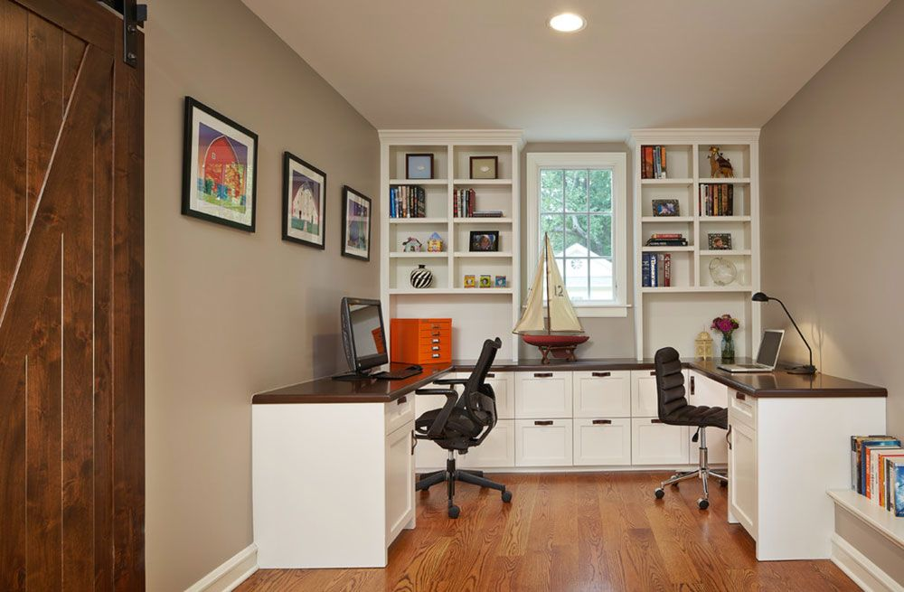 Two Person Desk Design Ideas And Solutions For You13 Home Office Layouts Home Office Design Shared Home Offices