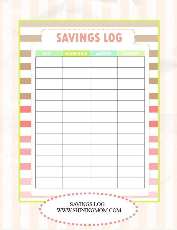 SAVE MONEY, Use Our Free Budget Binder! Pinterest Printable