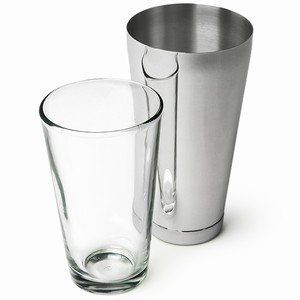 Professional Standard Boston Cocktail Shaker 1 X Tin And 1 X