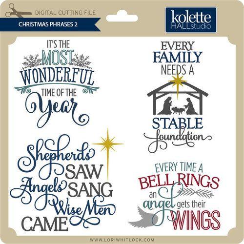 Christmas Phrases 2