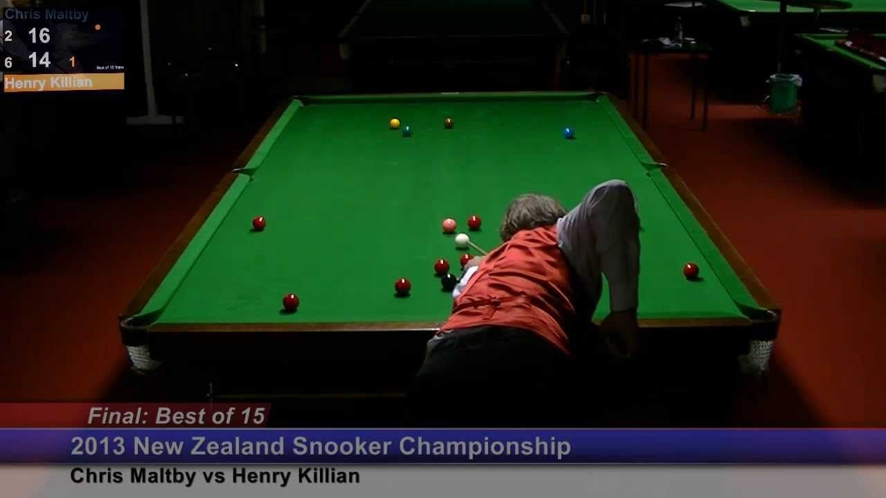 NZ Snooker Championship 2013 / Final : Session 3