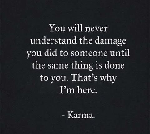 Karma Is The Best Way To Revenge Karma Quotes True Quotes