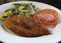 Spicy Oven-Fried Chicken